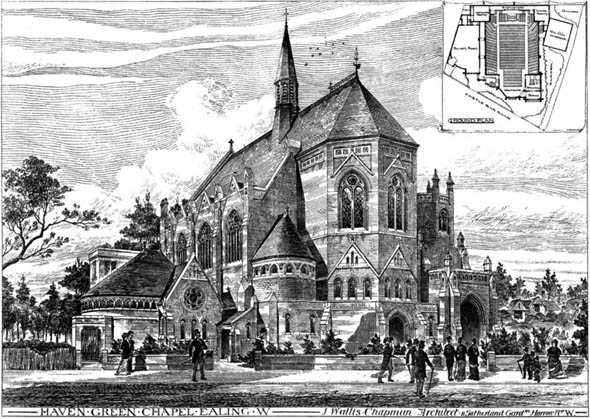 1880 – Haven Green Baptist Church, Ealing, London