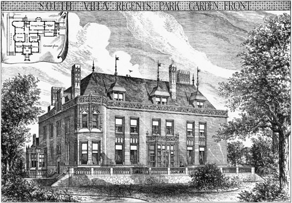 1879 – South Villa, Regents Park, London