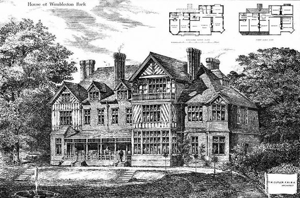 1879 – House at Wimbledon Park, London
