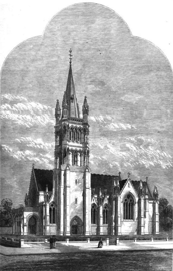 1870 – Christ Church, Finchley, London