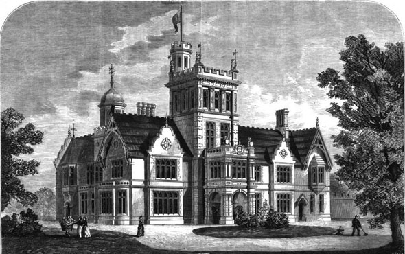 1870 – Kenwood Tower, Highgate, London