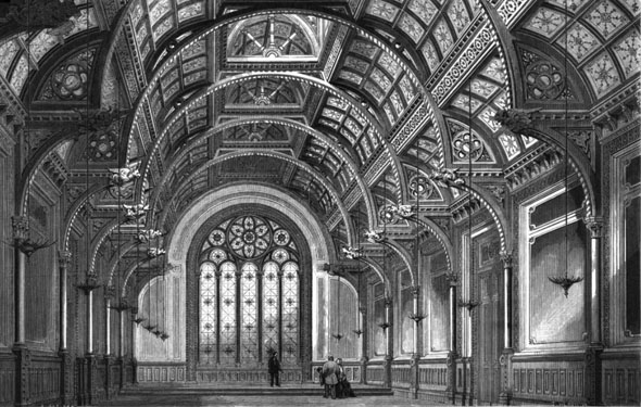1870 – Great Hall, Alleyn's College, Dulwich, London