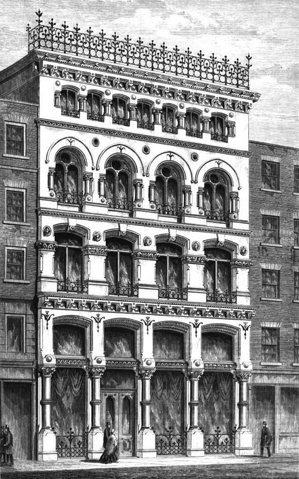 1870 &#8211; Business Premises, The Poultry, London