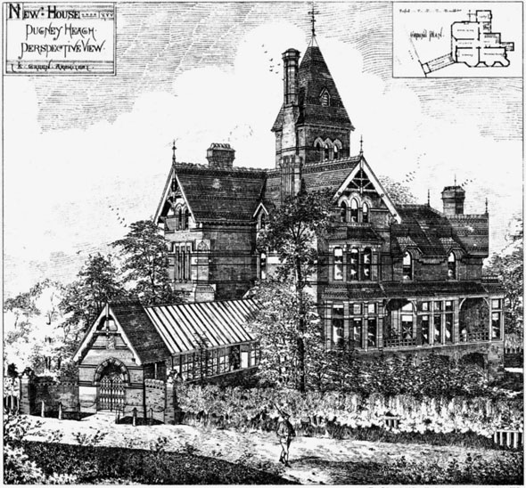 1879 – House, Putney Heath, London