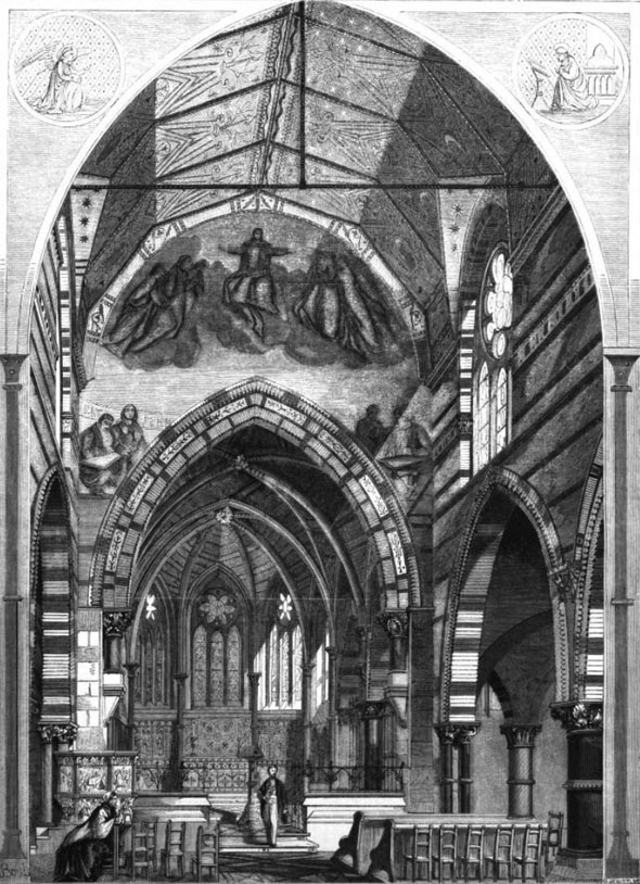 1862-  Church of St. James the Less, Westminster, London