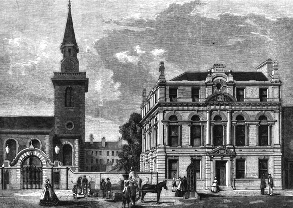 1862 – St. James's Vestry Hall, Piccadilly, London