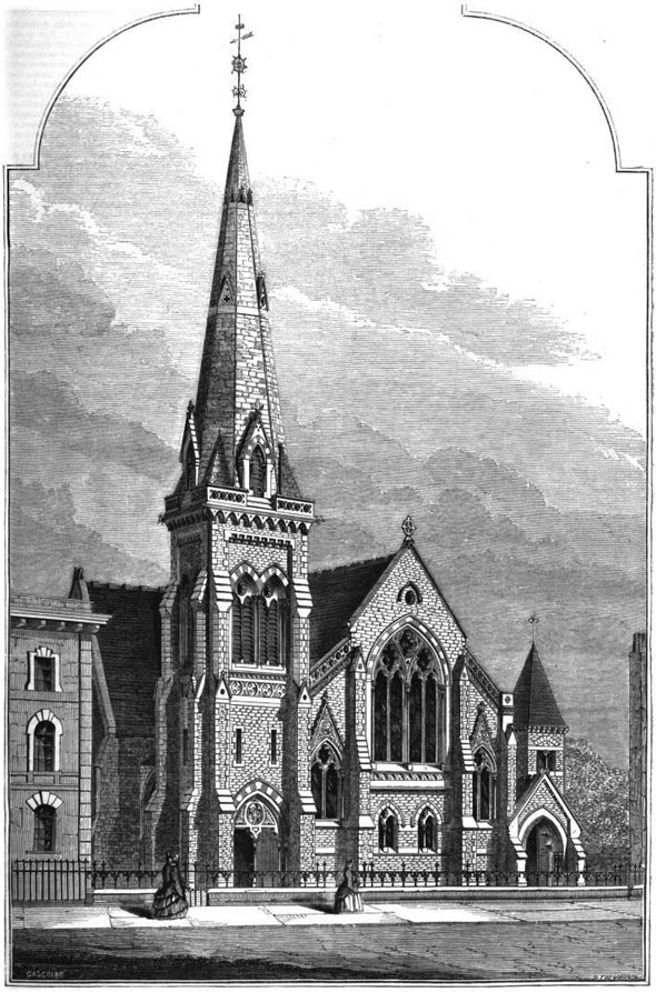 1862 – Unitarian Church, Islington, London