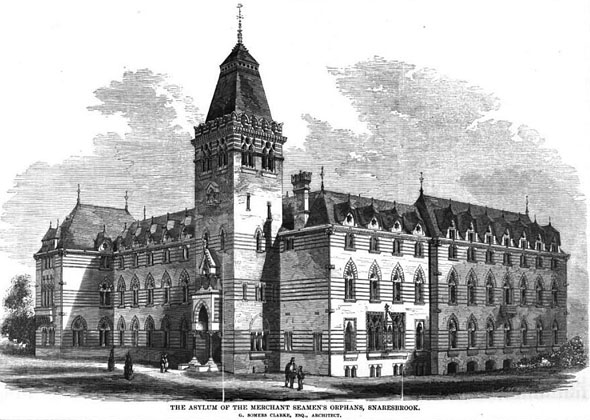 1862 – Asylum of Merchant Seamen's Orphans, Snaresbrook, London