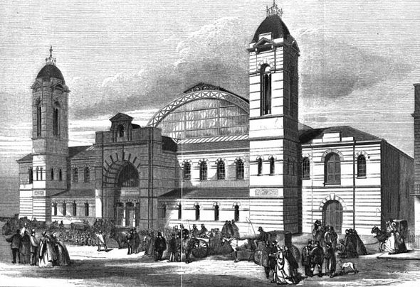 1862 – Agricultural Hall, Islington, London