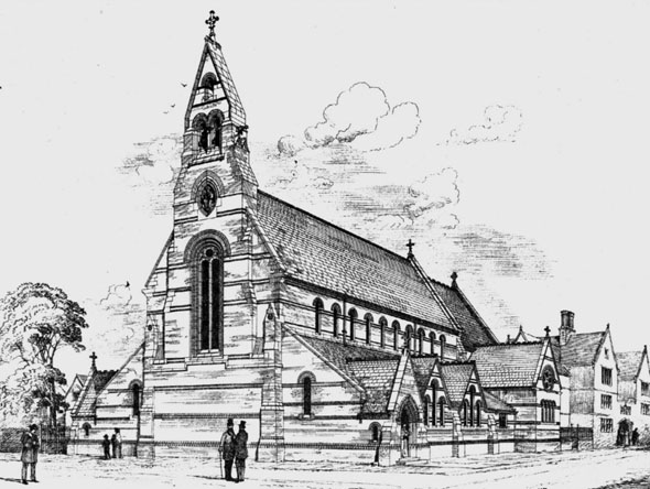 1876 &#8211; Church of St. Jude, Peckham, London