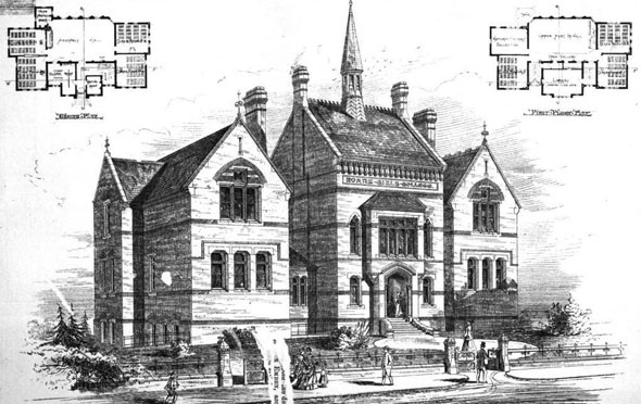 1878 – Roans Girl's College, Greenwich, London