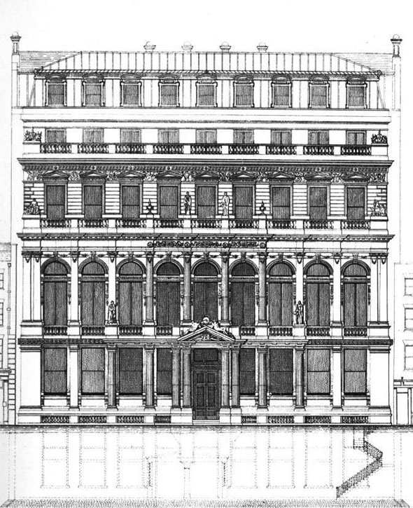 1875 &#8211; City Liberal Club, London