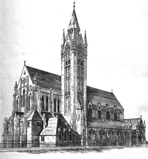 1875 &#8211; Church of St. Augustine, Bermondsey, London
