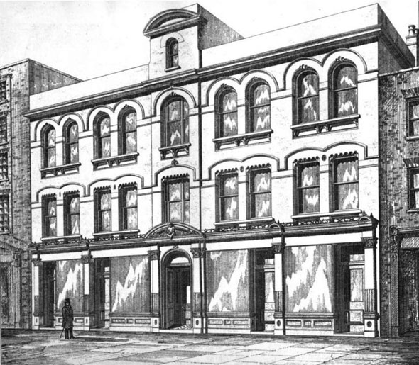 1875 – Norgrove Buildings, Bishopsgate, London