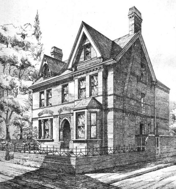 1875 – Villa, Clapham, London