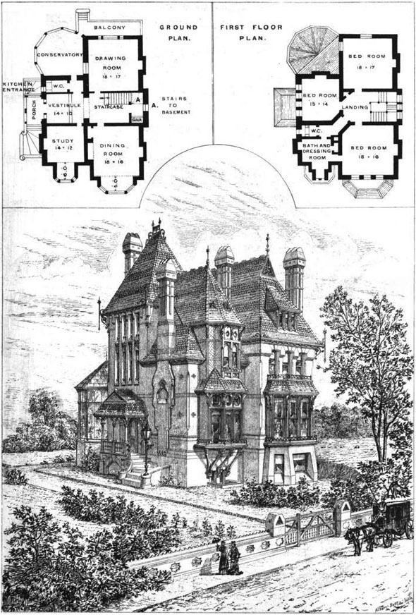 1875 – House, Upper Norwood, London