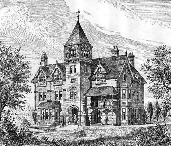 1879 &#8211; Residence at Childs Hill, Hampstead, London