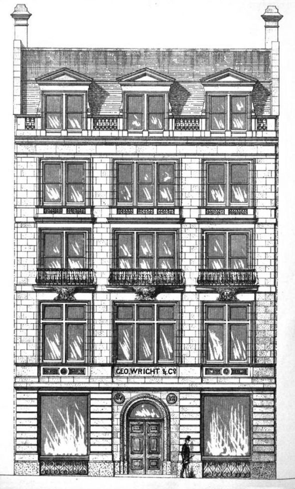 1875 – Commercial Premises, Victoria Street, London