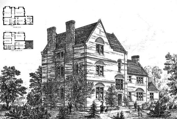 1875 – Villa at Hornsey, London