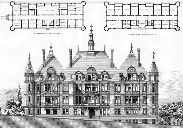 1879 – North London Consumptive Hospital, Hampstead, London