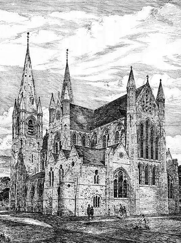 1879 –  Church of St. Mary, Woolwich, London