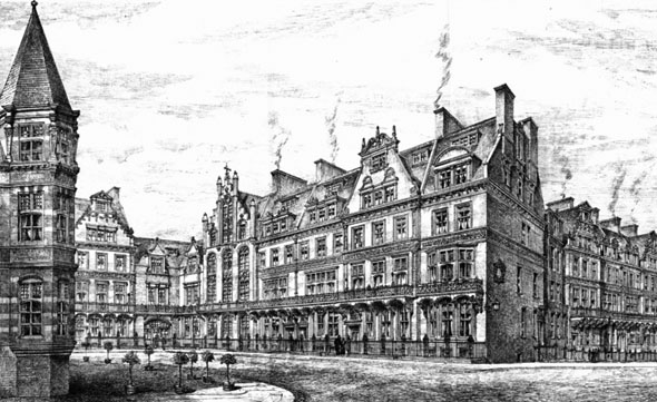 1885 – Kensington Court, London