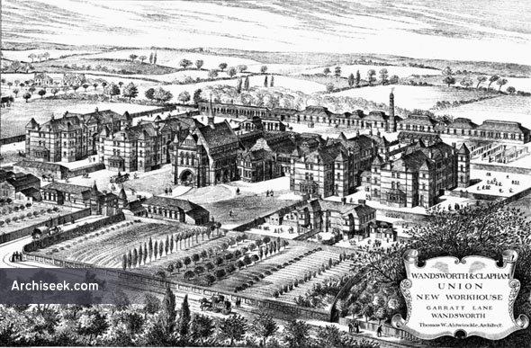 1886 – Workhouse, Garratt Lane, Wandsworth, London