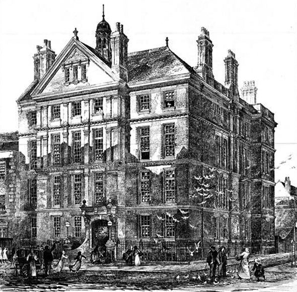 1888 &#8211; Cheyne Hospital for Children, Cheyne Walk, Chelsea, London