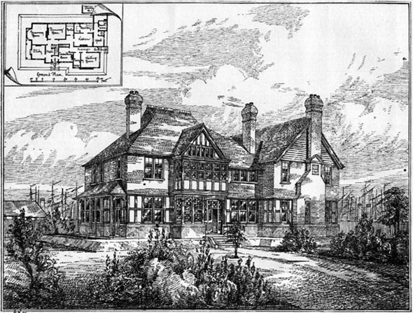 1888 –  Proposed Doctors House, Tilbury Docks, London