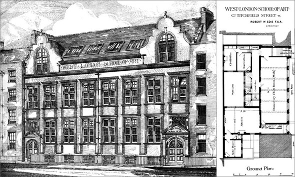 1880 &#8211; West London School of Art, London