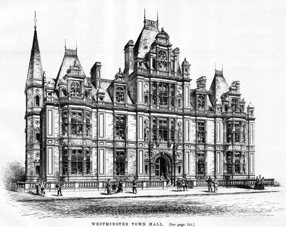 1883 – Town Hall, Westminster, London