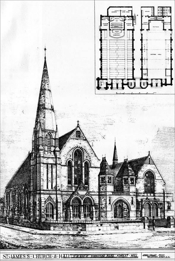 1883 &#8211; St. James&#8217;s Church, Forest Hill, London