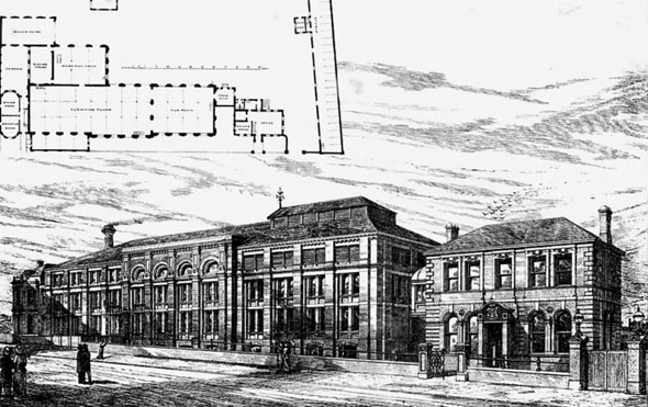 1877 &#8211; Gordon&#8217;s Brewery, Peckham, London