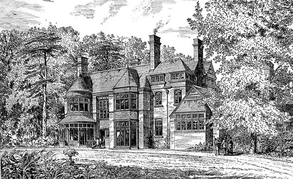 1875 &#8211; The Priory, Mill Hill, London