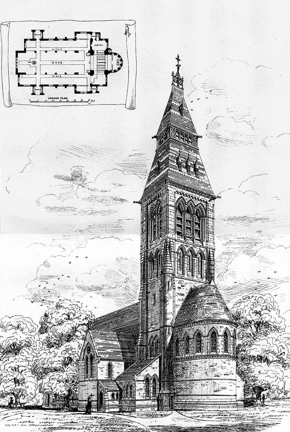 1875 – Church, Cambridge Park, Twickenham, London