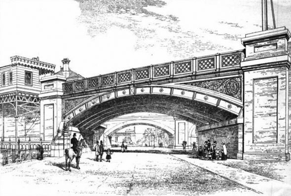 1869 – Battersea Bridge, London