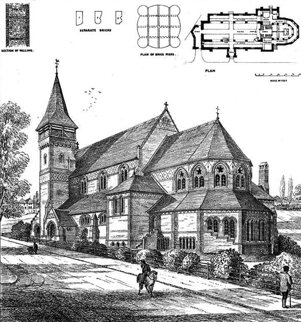 1874 &#8211; St. Marks Church, Battersea Rise, London