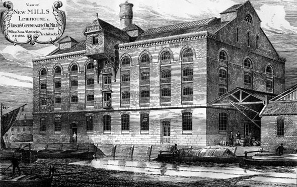 1886 – New Mills, Limehouse, London