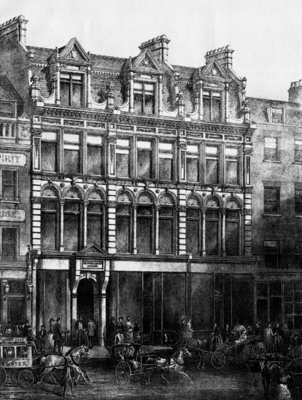 1886 – Oxford Circus Avenue, London