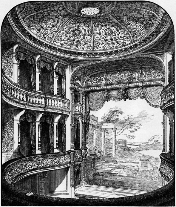 1886 – Terry's Theatre, The Strand, London