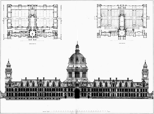 1887 &#8211; The Imperial Institute Competition,  South Kensington, London