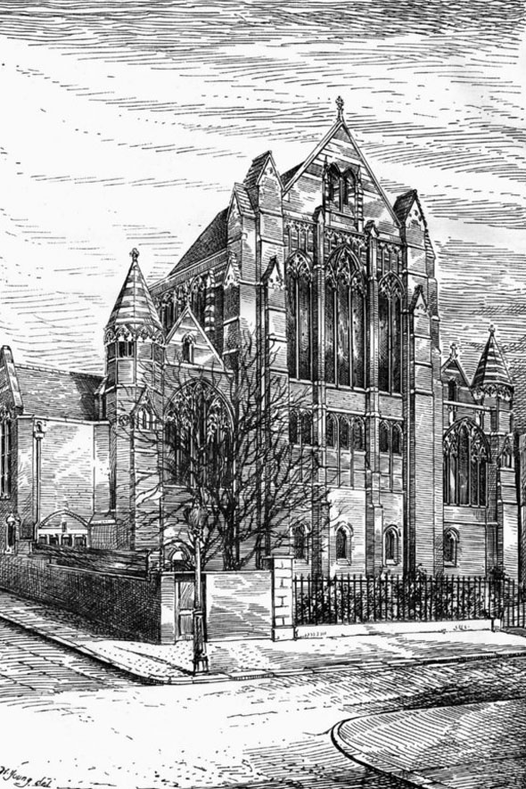 1887 &#8211; Church of Corpus Christi, Brixton Rise, London