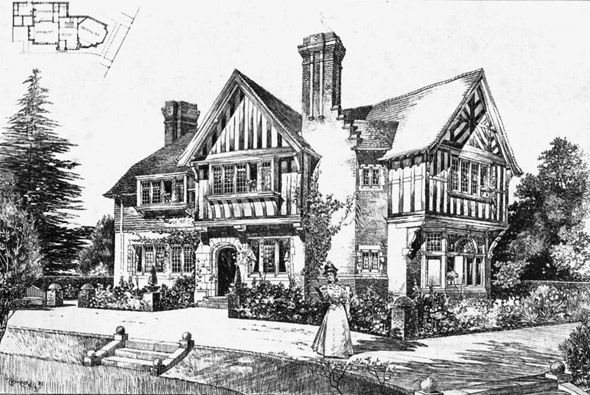 1898 &#8211; The Croft, Blakesley Avenue, Ealing, London