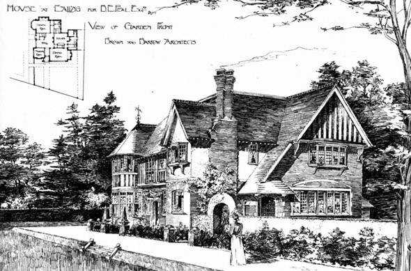 1901 &#8211; House at Ealing, London