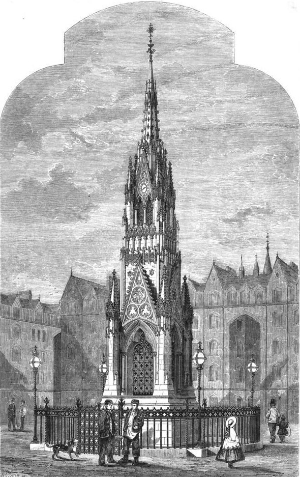1863 – Clocktower, Bethnal Green, London