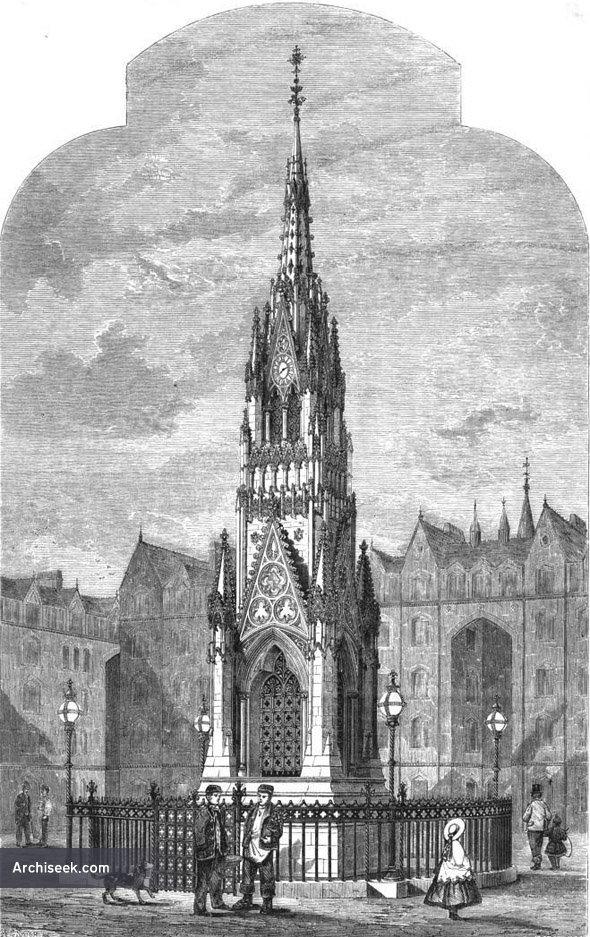 1863 – Clocktower, Bethnal Green, London