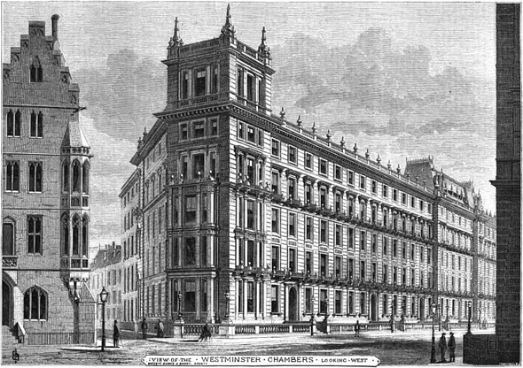 1863 – Westminster Chambers, London