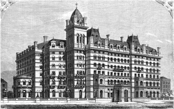 1863 – The Langham Hotel, Portland Place, London