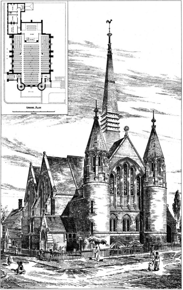1883 &#8211; Woodberry Down Baptist Chapel, London