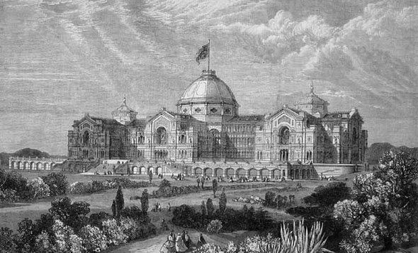 1873 – Alexandra Palace, London